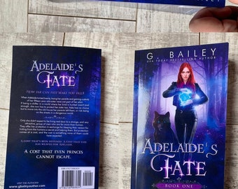 Signed Paperback of Adelaide's Fate by G. Bailey