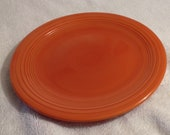 Vintage Fiesta 7 quot Red Salad Plate