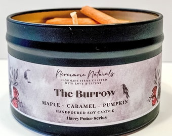 Mrs Weasley/'s Kitchen Candle Harry Potter Candle Rhubarb Custard Candle Gift for Potter Fan Bookish Candle Literary Candle Book Themed