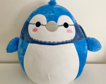 """Personalized Babs the Bluejay Squishmallow 12"""""""