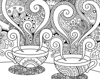 Positive Thoughts colouring pages X40 !!