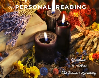 Personal Insight Reading - Guidance & Advice | The Intuitive Luminary