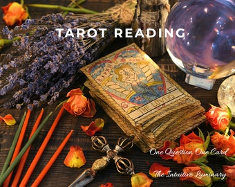 Guidance & Insight Reading with Tarot Cards | The Intuitive Luminary