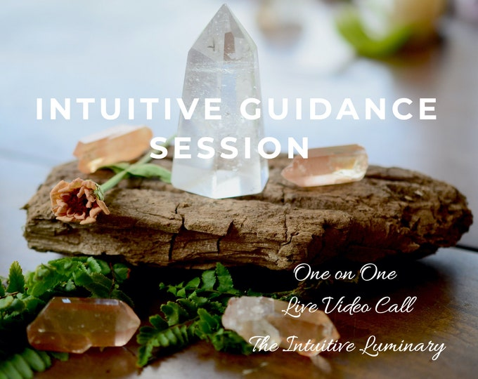 Featured listing image: Intuitive Personal Reading - Live Video Call - 15 Minute Session | The Intuitive Luminary