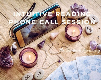 Spiritual Guidance Reading - Phone Call Session | The Intuitive Luminary