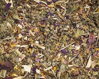 Classic Blue Blend   Blue Lotus, Damiana, Mugwort   Tea Blends from Smokably
