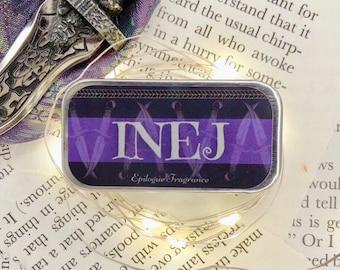Inej Ghafa Perfume/ Six of Crows Merch/ Grishaverse Inspired/ Bookish Solid Perfume/ Grishaverse Scent/ Bookish Gift/ YA Fantasy Perfume