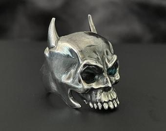 Batman Skull Fan Art Sterling Silver Ring