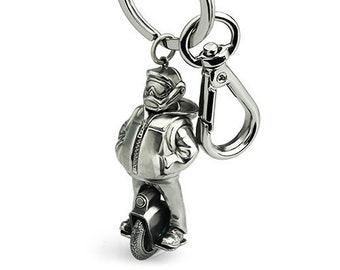 EUC DUDE - Electric Unicycle Metal Keychain