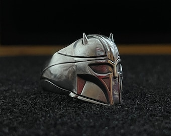 The Armorer Hex3D Sterling Silver Ring
