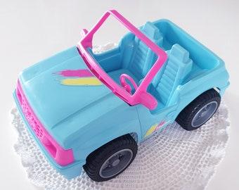 Vintage Barbie - 1994 Blue Sports Cruiser Jeep - Incomplete