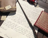 Letter from your favourite comfort fictional character (handwritten, typewriter or email)