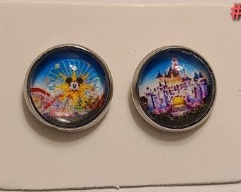 Stud Earrings - Disneyland
