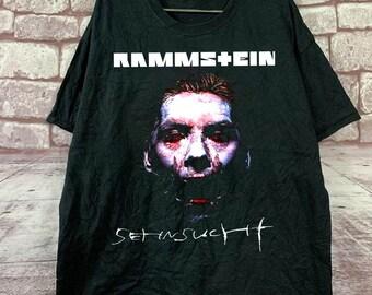 Rammstein Bandshirt Photo T-Shirt schwarz Männer Tshirt black