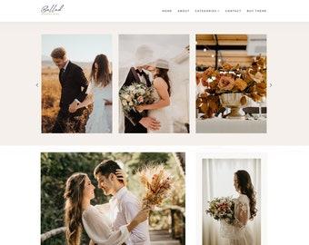 Ballad - Blogger Template, Premade Blogger Theme, Responsive Blogger Template, Responsive Blogger Theme, Minimalist Blogger Theme, Wedding