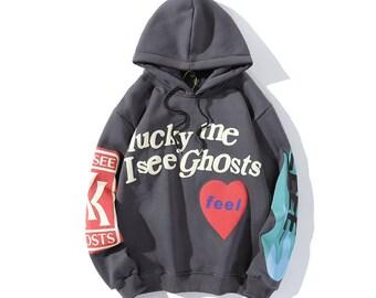 Kanye Kids See Ghosts Hoodie Kapuzenpullover Pullover Hooded Hoody