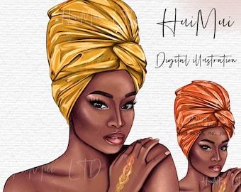 Black woman clipart, Black girl magic, Black girl clipart, clipart, African American, wall print, digital download, art, fashion clipart