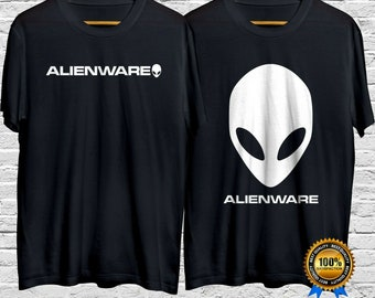 for her gift alienware tshirt alienware computer alien for him Alien Ware T-Shirt