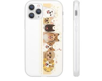 Cellphone Hard Case Birds Love For iPhone X XR 11 Series Galaxy S20 Series N10 N20 Series
