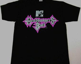 Top VTG MTV Headbangers Ball Eric Haze Tshirt Shirt Best RAre