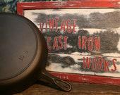 Vintage BSR Red Mountain Series 10 Large Skillet Circa 1930 39 s
