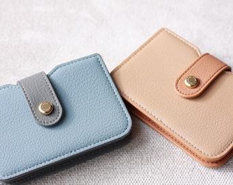 Carousel horses horse novelty handmade zipper fabric coin change purse card holder