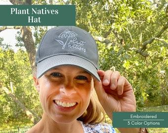 Plant Natives Wildflower Hat