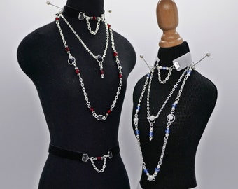 BJD - DemonAngel Jewelry Set - different colors | Miniature Jewelry Accessories - for 1/3 SD 70+ 80cm [Ball-Jointed Dolls]