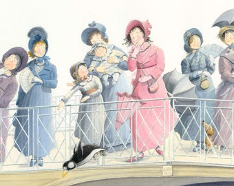 Oh! Mr Darcy! - Fine Art Print