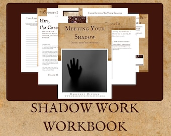 Shadow Work Ebook | Shadow Work Worksheet | Shadow Work Workbook | Shadow Work Journal | Self Healing Prompts