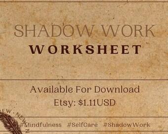 Shadow Work Worksheet