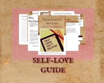 Self Love Workbook | Self Love Worksheets | Self Love ebook | Self Love Journal
