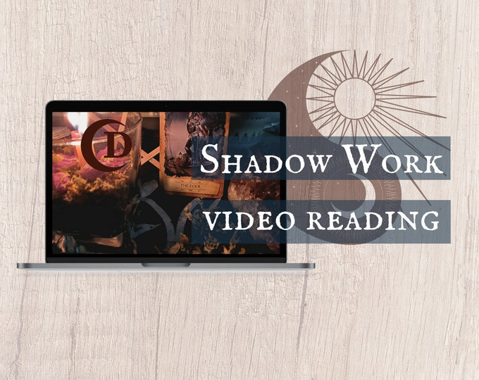 Featured listing image: Shadow Work Tarot Reading VIDEO FORMAT   Mirror Glass Tarot Reading   Messages From The Divine Reading   Spiritual Energy Analysis