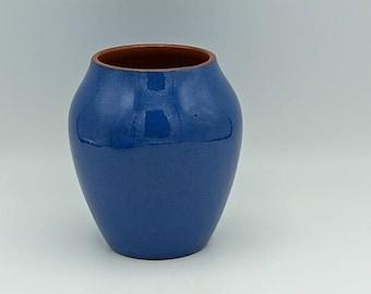 Studio Ceramic | Blue Pottery Vase 11cm Tall