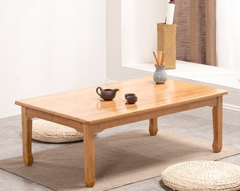 Japanese, low table, Kang table,household, solid wood, tatami, small table,sitting,small coffee table, tea table, window sill, customization