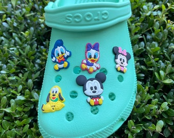 Mickey and friends Shoe charms