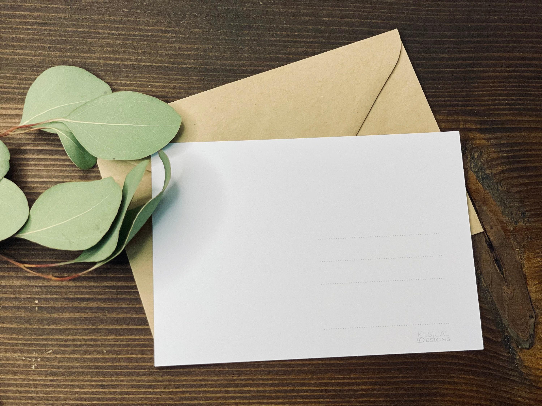 Du bist mein perfektes Gegenstück. Postkarte/Grußkarte | Etsy