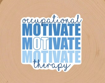 Occupational Therapy Die cut Sticker