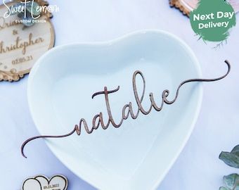Wedding Seating - Wooden Place Names / Settings- Wedding Names - Wedding Reception - Natural Finish Wood - Guest Seating  - Wedding
