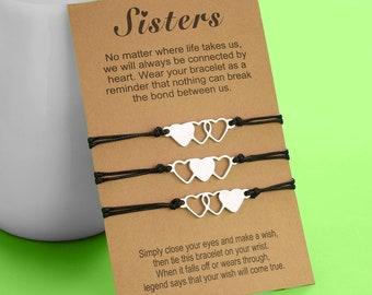 sister bracelets for 3