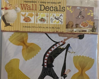Kitchen Wall Decals 3 sheets!