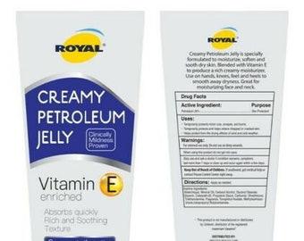 Creamy Petroleum Jelly!
