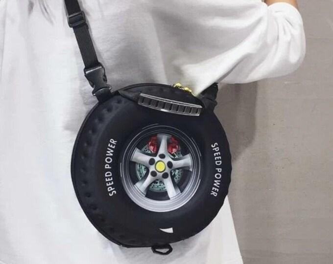 Featured listing image: Tire Design Satchel Purse!