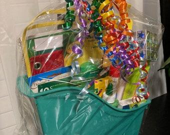 School Supply Gift Basket!