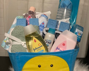 Baby Gift Basket for Boy or Girl!