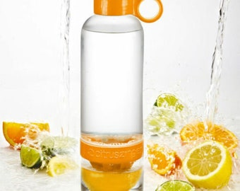ZING ANYTHING Citrus Zinger Infuser Bottle For Fresh, Nutrient Rich Water - 28oz BPA Free