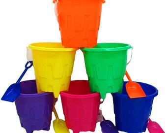Individual Beach buckets with Shovel!