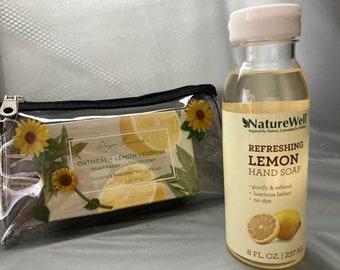 Custom Sunflower Jelly purse with Soap!