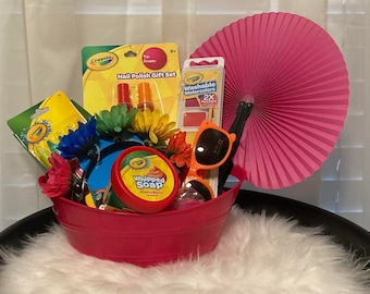 Girls Spa Gift Basket!