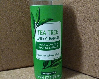 TEA TREE Facial Daily Cleanser or Citrus Lime Tea Tree Oil Hand Therapy Mist!